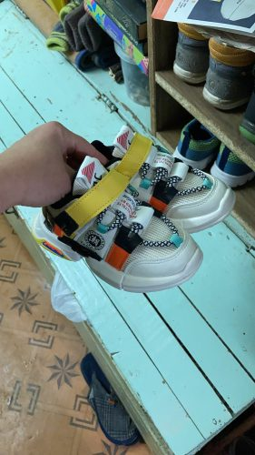 Autumn new arrivals girls sneakers shoes for baby toddler sneakers shoe size 21-30 fashion breathable baby sports shoes photo review