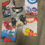Kids Boys Girls Clothes Baby Pajamas Summer Cotton Short Sleeve T Shirt Pyjamas Pijamas Set Cartoon Spiderman Children Sleepwear photo review
