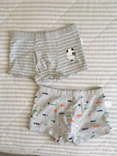 2Pc/Lot Boys Panties Cotton Boxer Shorts Briefs Kids Children Clothes Underpants 110-160 photo review