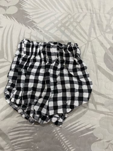 0-5Y Kawaii Newborn Baby Bloomers PP Pants Cotton Linen Triangle Solid Dot Girls Shorts Summer Trouser Toddler photo review