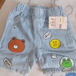 2020 Summer Boys Denim Shorts Cartoon Shorts For Kids 1-8years Children Pants Toddler Trousers Clothing photo review