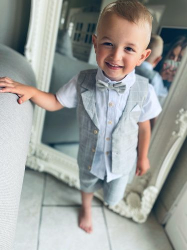Wedding Suits for Boys Formal Wear Jacket Summer Cotton Boy Suits Boy Costume Kids Blazer Baby Boy Outfits Clothes photo review