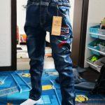 Children Boys Jeans 2019 Spring Kids Denim Pants Boys Casual Pencil Jeans Pants.4Y-15Y Children Letter Straight Trousers photo review