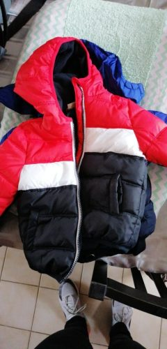 Baby Boys Jacket 2021 Autumn Winter Jacket For Boys Kids Hooded Warm Outerwear Coat For Boy Clothes Children Jacket 2 3 4 5 Year photo review
