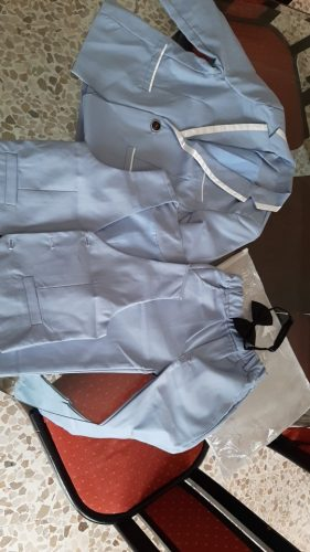 2021 Flower Boys Tuxedo Suit for Wedding Kids Birthday Party Dress Blazer Vest Pant 3pcs Clothing Set Children Ceremony Costume photo review