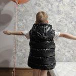 Vest for Boy Children Hooded Warm Outerwear Kids Glossy Coat Baby Girl Sleeveless Jacket Winter Down Padded Waterproof Waistcoat photo review