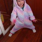 Children Kigurumi Unicorn Pajamas Kids Baby Animal Overalls Jumpsuit Onesie Panda Pajama Sleepwear Girls Cosplay Pyjama Pijamas photo review