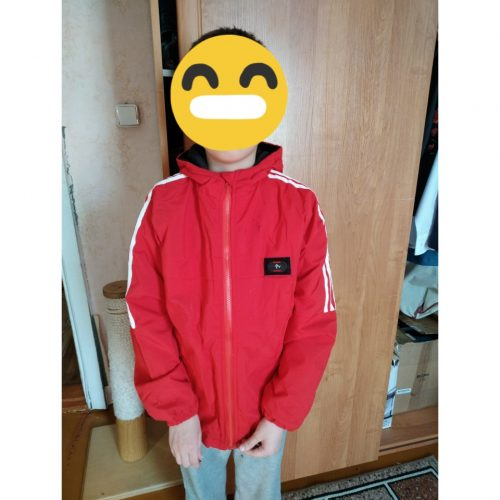 Autumn Winter Boys Jacket Hooded Plus Velvet Warm Windbreaker Fashion Thicken Jacket For Boy Kids Clothes Teenage Coat For Boys photo review