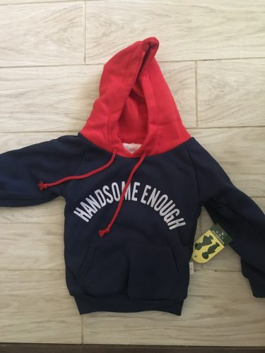Winter Boys Hoodies Handsome Keep Warm Hooded Casual Kids Sweater Loose Fashion Autumn Boys Sweatshirt 1-5 Years Old Kids Jacket photo review