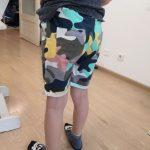Summer Boys Camouflage Shorts Cotton Trousers Kids Beachwear Children Loose Sport Beach Shorts Sweatpants 2-7Y photo review