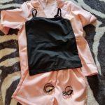 Kids Girls Blazer Jacket Vest Shorts 3PCS Tuxedos Suit for Kids Suit Children Girls Blazer For Wedding Party Pink Grey Color photo review