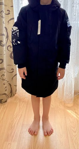 -30 degree children's parka winter jackets kids clothing 2020 big boys warm down cotton-padded coat thickening outerwear clothes photo review