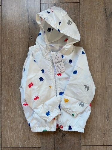 New Summer & autumn children jackets casual hooded kids outerwear/coats 1-7T blue and whith style jackets for boys CQ03 photo review