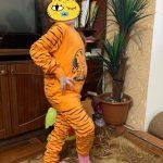 New Kids Pajamas Sets Boys Cartoon Tiger Styling Baby Kids Pijama Infantil Pyjama Girl Home Clothes Children Christmas Sleepwear photo review