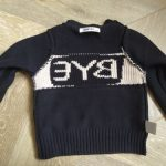 Lovely Baby Sweater Girls Boys Hello Letter O-Neck Sweater Kids Long Sleeved Knit Cardigan Sweater Children Casual Tops Pullover photo review