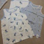 VIDMID 3pcs/lot Baby Children vest summer boys Girls tanks t-shirt Cotton tank sleeveless kids boy cartoon beach clothes 7010 06 photo review