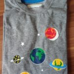 Little maven 2-8Years Autumn Luminous Universe Planet Boys Long Sleeve T Shirts Toddler Kids Fall Clothing Children's Clothes photo review