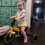 LazyChild Hot 5-in-1 Infant Trike Foldable Baby Balance Bike Multi-function Kid Kick Scooter Child Stroller Gift For 1-6 Years photo review