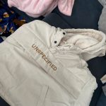 WLG Winter boys girls parkas kids velvet hooded long sleeve letter printed beige gray coat baby thick clothes photo review