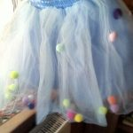 2020 Summer Baby Multilayer Tulle Tutu Skirt Colorful Pom Pom Princess Mini Dress Children Clothing Pettiskirt Girl Clothes photo review
