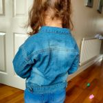 Top and Top Spring Autumn Kids Casual Jacket Girls Ripped Holes Jeans Coats Little Boys Girls Denim Outerwear Costume 12M-6Y photo review
