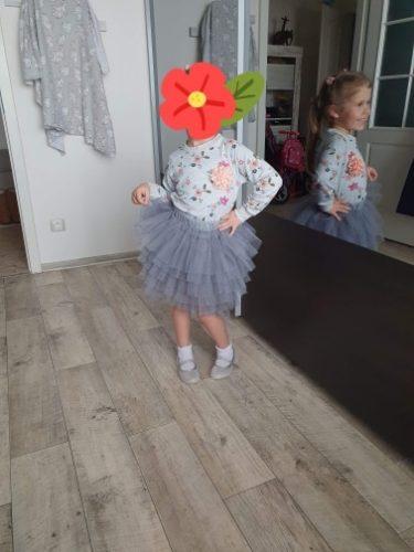 Fashion Girls Tutu Fluffy Skirt Princess Ballet Dance Tutu Mesh Skirt Kids Cake Skirt Cute Girls Clothes DT081 photo review