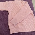 Solid Color Baby Girls Soft Wool Knitted Sweater for Children's Tops Clothes 2020 New Kids Cashmere Pullover Sweaters photo review