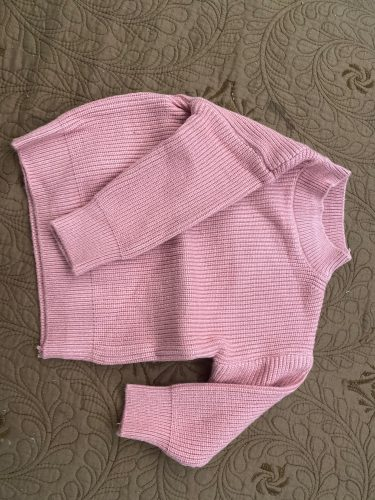 lioraitiin 0-6Years Toddler Baby Girl Autumn Winter Sweaters Long Sleeve Solid Fashion Knitting Coat 5Styles photo review