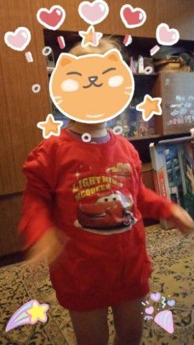 Disney Cars Sweatshirt Cotton Boy Sweatshirt Child Lightning McQueen Sweatshirt photo review