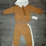 Toddler Baby Boy Hooded Casual Clothing Set Sweatshirt Long Sleeve Autumn Boys Kids Outfits Tracksuit Suits Children Clothes photo review