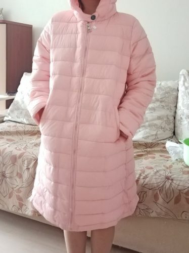 Kids Girls Jacket 2020 Autumn Winter Jacket For Girls Coat Baby Warm Hooded Outerwear Coat Girls Clothing Children Down Parkas photo review