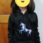 Fashion Unicorn Print Sweater Toddler Boys Girls Sweatshirt Casual Hoodies Baby Winter Warm Long Sleeve Hooded Children Clothes photo review