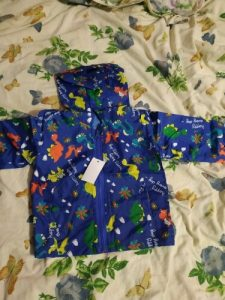 Hot Sale!children Summer Thin Printed Jacket Spring Long Sleeved Cartoon Thin Hooded 2-6Y Boy Girl Cute Zipper Shirt Windbreaker photo review