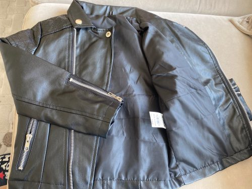 Boys PU jacket Spring Autumn children's Motorcycle leather 1-7 years old fashion color diamond quilted zipper girls coat cool photo review