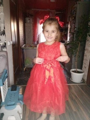 Children Petticoat A-Line 3 Hoops One Layer Kids Crinoline Lace Trim Flower Girl Dress Underskirt Elastic Waist Fit 6~14Y Girl photo review