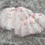 1-6Y Cute Mesh tutu Girls Skirt Summer Children Flower Dot Plaid Skirts Kids Pink faldas aesthetic Soft Mini Skirt for girls photo review