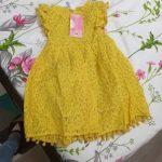 Humor Bear Girls Dress SummerBrand New Dress For Girls Sleeveless Chiffon Polka Dot Dress Princess Dress Girl Toddler Dress photo review