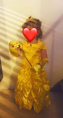 Girl Princess Dress Kids Summer Cosplay Costume For 6 8 10 Years Girls Halloween Children Clothing photo review