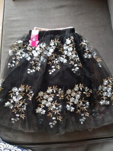 Teenage Girls Tutu Layered Skirts Kids Sequins Skirt for Girls 2021 Spring Summer Long Skirt Girls Princess Skirt Child Clothes photo review