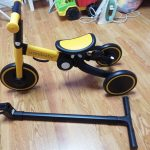 Children Bicycle Tricycle Child Bike Foldable Baby Balance Bicycle Children's Scooter Kids Walker trike baby stroller 5 in 1 photo review