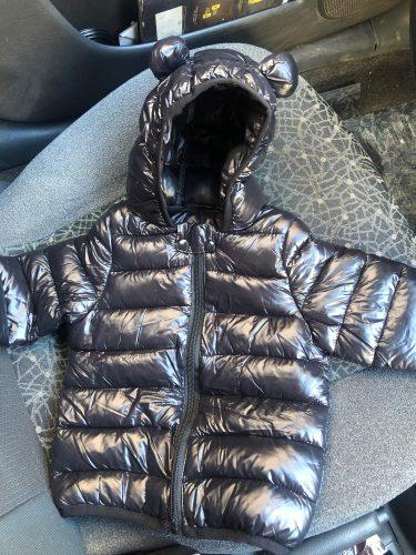 Baby Girls Hooded Down Jackets For Kids Coats Autumn Boys Cartoon Warm Jacket Coat Jacket Toddler Girl Zipper Jacket Outerwear photo review