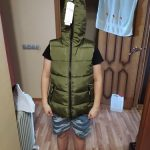Parent-Child Matching Outfits Camouflage Child Waistcoat Cotton Girls Boys Vest Kids Jacket Children Outerwear For 100-185cm photo review