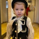 Bear Leader Girls Princess Patchwork Dress 2021 New Fashion Party Costumes Kids Bowtie Casual Outfits Baby Lovely Suits for 2 7Y photo review