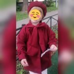 Cute Toddler Kids Baby Girls Overcoat Woolen Bowknot Single Breasted Coat For Girl Outerwear Winter Warm Clothes Snowsuit 2-8 T photo review
