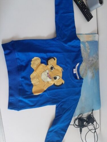 Lion King Children Boys Sweatshirts Toddler Baby Girls Clothes 2020 Spring Autumn Cute Long Sleeve Fashion top photo review