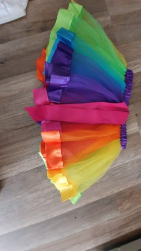 New Tutu Skirt Baby Girl Skirts 3M-8T Princess Mini Pettiskirt Party Dance Rainbow Tulle Skirts Girls Clothes Children Clothing photo review