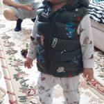 2020 Autumn Children Warm Down Vest Baby Cotton Waistcoat Kids Outerwear Vest Children Clothing Boys Girls Hooded Jackets Vest photo review
