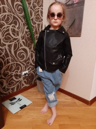 Menoea Baby Girls Jeans Autumn Winter Pants 2020 Denim Boys Clothes Kids Long Cowboy Cotton Children Trousers Teenager Clothes photo review