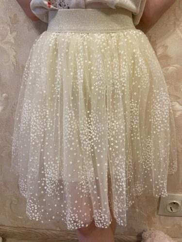VIDMID Girl Tutu Skirt Kids Princess Girls Skirts Lovely Ball Gown Children mesh Clothing Baby Clothes 4-12Yrs clothes 4252 01 photo review