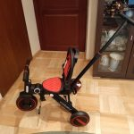 4 In 1 Children Tricycle Scooter Child Two Wheel Bike Foldable Baby Balance Bike Kids Scooter Baby Stroller for 1-6 Years Old photo review